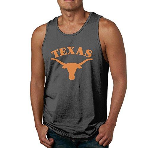 CYSKA Men's Best Texas Longhorns Tank Top Black XXL