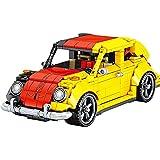 GFDGDS Technic Classic Car Building Blocks, 675 Piezas Techinc Pull-Back Car Construction Set para Beetle, Compatible con Lego Technic (Talla : 675pcs)