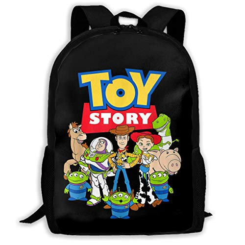 HuangYongHongPODFPO Toy Story Buzz Woody Jessie School Lightweight Large Capacity Casual Printed Adult Backpack Unisex