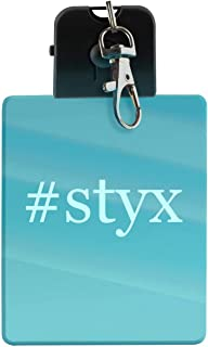 #styx - Hashtag LED Key Chain with Easy Clasp