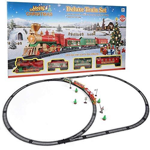 Dilwe Juguete Educativo del Tren, Estilo de Navidad Juguete de Via de...