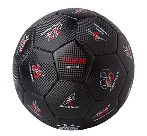 FC Bayern München Unterschriften Ball 19/20 (5, schwarz)