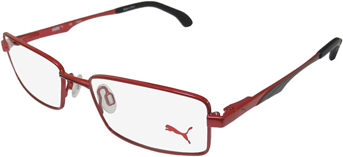 Puma 15419 Mens/Womens Spring Hinges TIGHT FIT Designed for Young Men & Women Optimal for Sports Eyeglasses/Eyewear