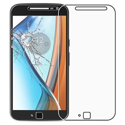 ebestStar - kompatibel mit Motorola Moto G4 Panzerglas G4 Plus Schutzfolie Glas, Schutzglas Bildschirmschutz, Bildschirmschutzfolie 9H gehärtes Glas [G4/G4 Plus: 152.9 x 76.5 x 7.8mm, 5.5'']