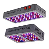 VIPARSPECTRA UL Certified 300W LED Grow Light Plus UL Certified 450W LED Grow Light, Full Spectrum Plant Growing Lights for Indoor Plants Veg and Flower