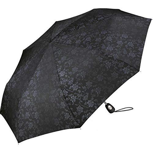Pierre Cardin Paraguas Brocado Deluxe Black Flower