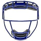 Schutt Fielder's Guard Softball Face Mask for Fast Pitch Softball, Seattle Blue, Varsity