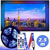 LED Tira De TV, Diyife 2.5M 75 Leds Multicolor RetroiluminacióN con...