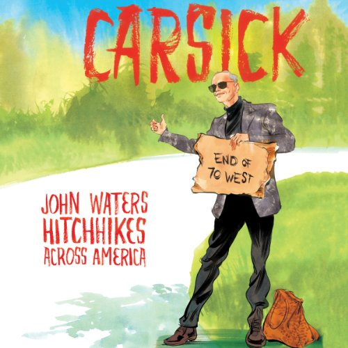 Carsick audiobook cover art
