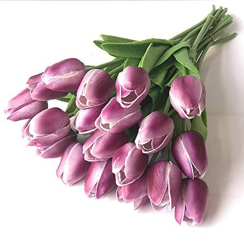 LLSTRIVE Tulp kunstmatige bloem kunstbloem nep bloem thuis tafel centrum, woonkamer open haard decoratie