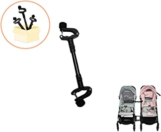 Twin Strollers Connectors for Baby Universal Turns Two Single Strollers into a Double Stroller Fits Most Strollers