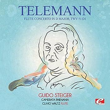 Telemann: Flute Concerto in D Major, TWV 51:D1 (Digitally Remastered)