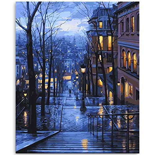 OTIKO Oil Paint by Numbers Beginners Kit