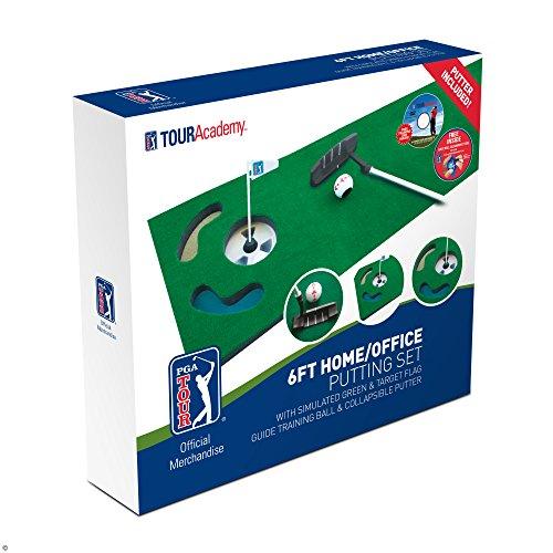 PGA TOUR Indoor Putting Set – Putting Matte mit Putter - 8