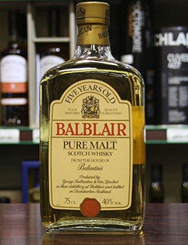 Balblair Pure Malt Whisky Box 1980s Vintage Single Malt