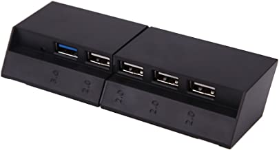 UEB PS4 USB Hub, Hot Style for PS4 HUB Converter Expander PS4 2 to 5 Switch HUB