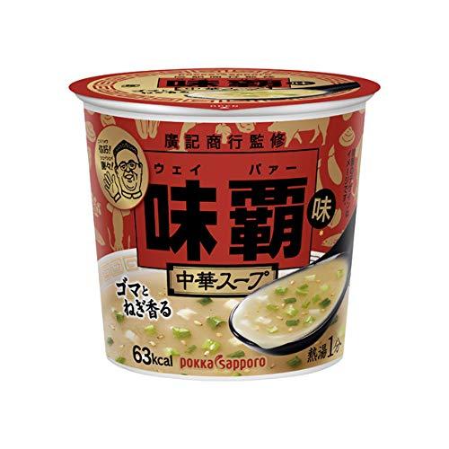 ポッカサッポロ 味覇(ウェイバー)味 中華スープカップ 17.1g×24個入
