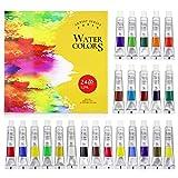 FUNHUA Watercolor Paint Artist Set - 24 Tube...