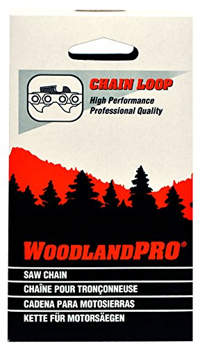"""WoodlandPRO 12"""" Chainsaw Chain Loop (30LP-45 Drive Links) 10 Pack"""