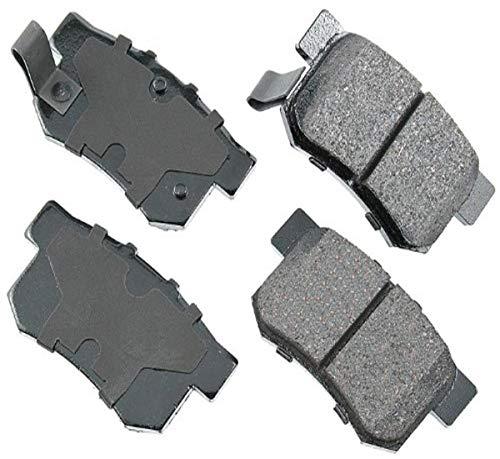 Akebono ACT537 Proact Ultra-Premium Ceramic Disc Brake Pad Kit