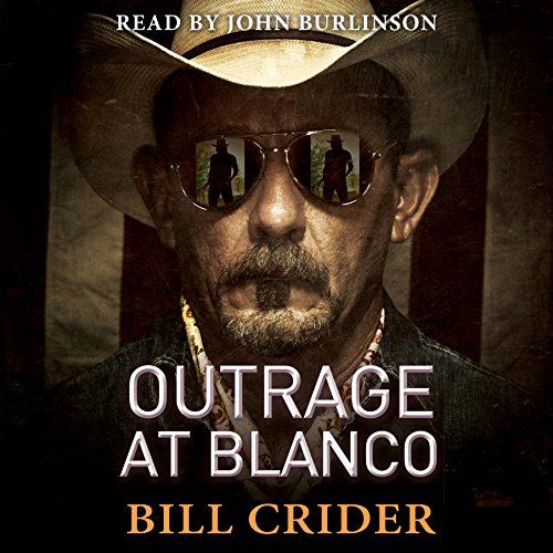 Outrage at Blanco audiobook cover art