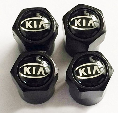 Bester der welt Schwarze Radventilkappe für Kia Kia Picanto Rio Venga Cee'd Sportwagon…
