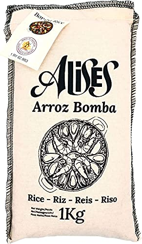 1Kg D. O. Bomba Paella Rice - Arroz Alises