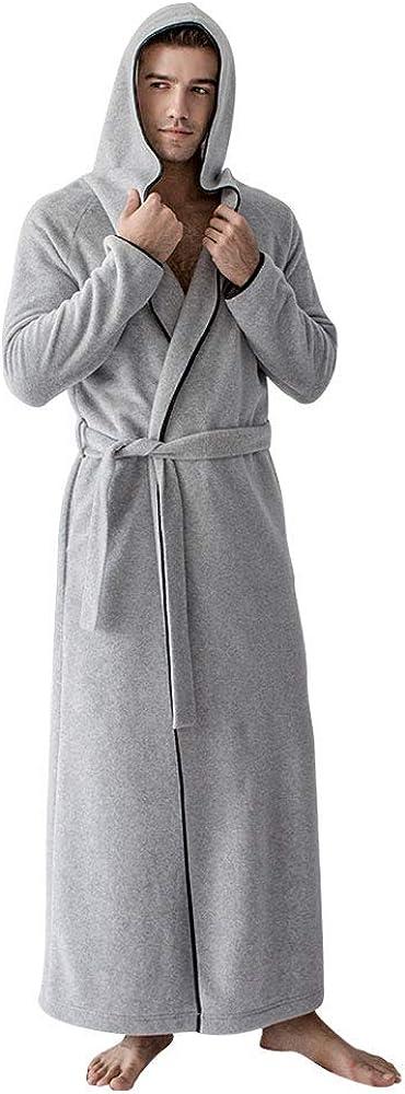 7 VEILS Women and Men MicroFleece favorite Hooded Ultra Long Floor-Length Nippon regular agency