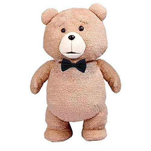 TED Orso Volgare con PAPILLON Stupendo Peluche GIGANTE 55cm Originale UFFICIALE