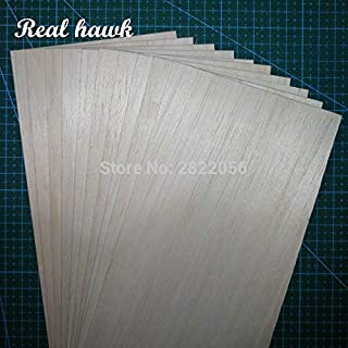Best Quality - Parts & Accessories - 330x100x0.75/1/1.5/2/2.5/3/4/5mm AAA+ Model Balsa Wood Sheets for DIY RC Model Wooden Plane Boat Material - by Waza Ka - 1 PCs