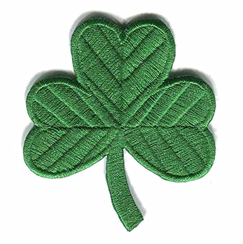 GODEAGLE Irish Shamrock Clover Iron on Embroidery Thread Patches