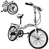 Centurfit Bicicleta Vintage Plegable Rodada 20 R20 Bicicleta Plegable Bicicletas Plegables Bicicleta...