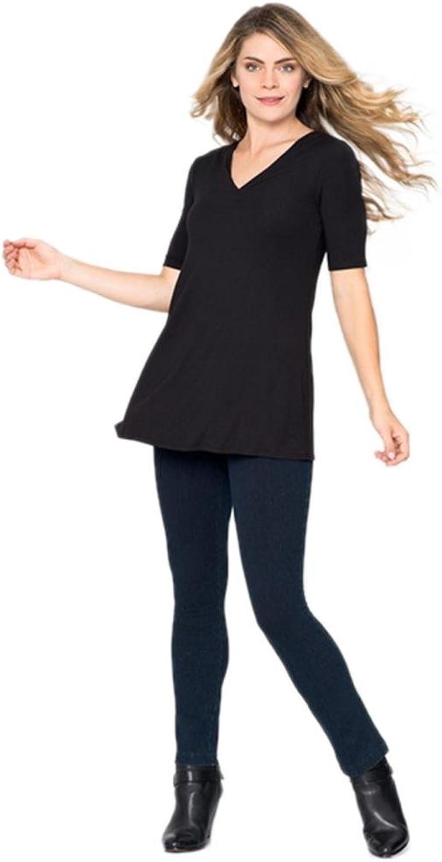 Lysse Women's Denim Straight Leg Legging Pant (Style no  6176L)