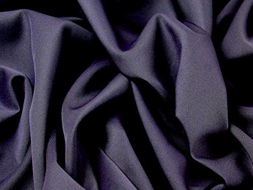 Minerva Crafts Stretch-Stoff, Jersey-Stoff, figurbetont, Meterware, marineblau