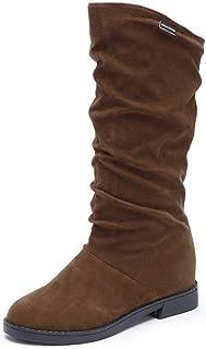 nuevo estilo 4817b dbf52 Amazon.es: botas de mujer baratas invierno