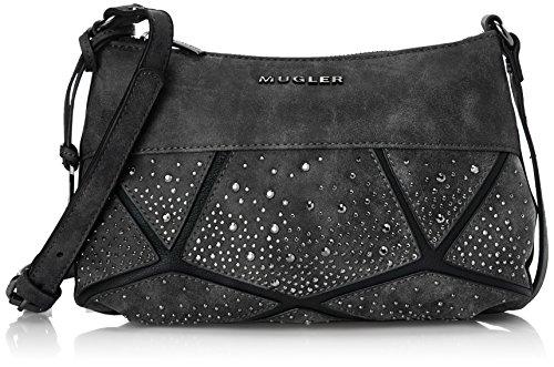 Thierry Mugler Damen Ivresse 3 Tasche, Schwarz (Noir 0110) One Size