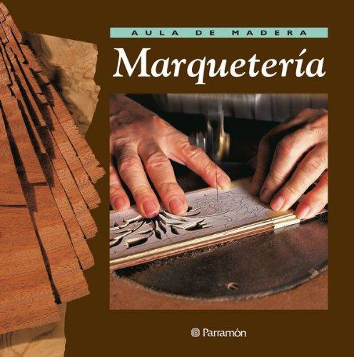 Aula de madera Marquetería