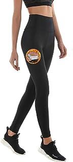 NHEIMA Kvinnors baslager joggingbyxor, fitness sport hög midja byxor för viktminskning, kvinnors bastu svettbyxor, löpning...