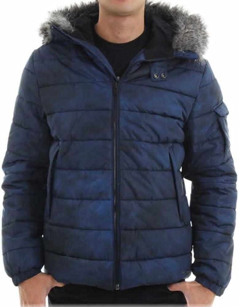 Calvin Klein Jeans Men's Fur Jacket Snorkel Puffer Max 51% OFF Columbus Mall Hood