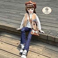 SANGY 60 センチメートル 1/3 Bjd SD ガールドールおもちゃ高品質フルセット 18 関節人形 Handmake ベベおもちゃ誕生日女の子のための