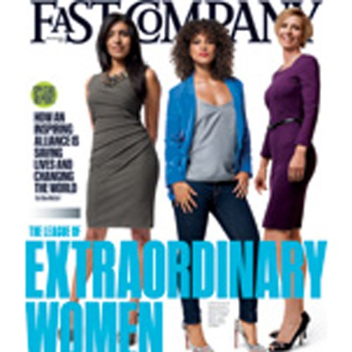 Audible Fast Company, July/August 2012 cover art