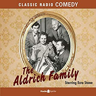 The Aldrich Family audiobook cover art
