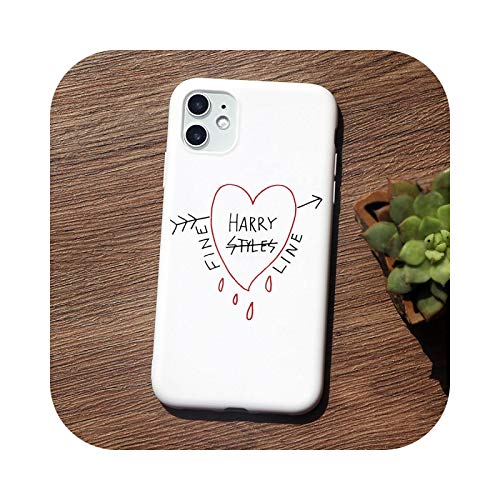 Harry Styles Love On Tour 2020 Funny Phone Case For iPhone 12 Pro 11 Pro Max XR 6s 8 7 Plus 5S X XS MAX SE 2020 TPU Cover-TPU Q563-white-For iPhone 11