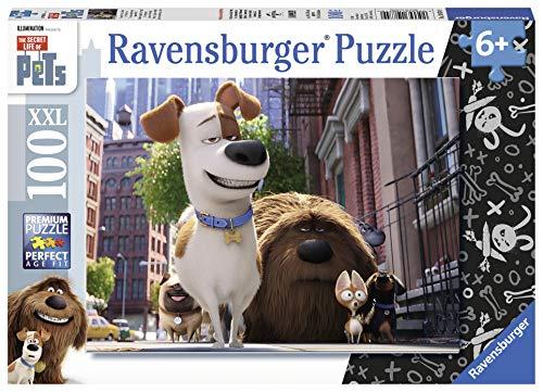 Ravensburger Italy Pets Puzzle per bambini-100 Pezzi XXL, Multicolore, 10874