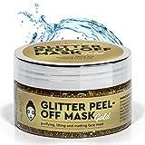 new body® Goldene Gesichtsmaske für schönere Haut - Anti Mitesser Peel of Mask mit Glitzer Effekt...