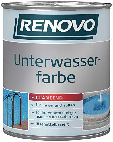 2,5Liter Schwimmbadfarbe lidoblau Unterwasserfarbe Schwimmbeckenfarbe Poolfarbe