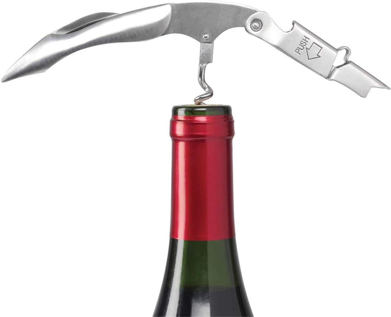 Le Creuset Sommelier Double Levier WT110S Inox Extraction des Bouchons de Vin