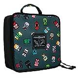 JINX Minecraft Bobble Mobs Insulated Kids School Lunch Box, Gray, 8.5'x 4'