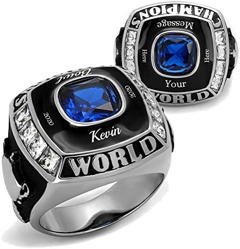 YVO Custom Championship Ring Football Basketball Baseball Hockey Esports Fantasy Rec League product image