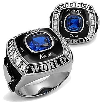 YVO Custom Championship Ring - Football Basketball Baseball Hockey Esports - Fantasy Rec League High School College
